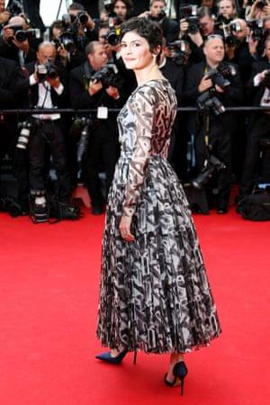 Actress Audrey Tautou
