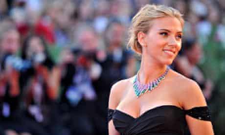 TOPSHOTS US actress Scarlett Johansson a