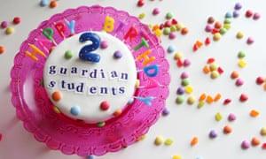 Guardian Students Birthday Cake