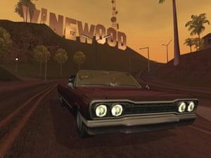 Grand Theft Auto: San Andreas.