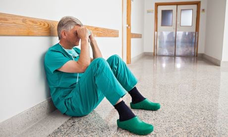 Burnout and depression': the doctors struggling with their