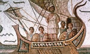 Odysseus mosaic