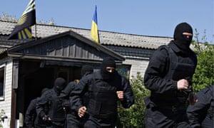 Volunteers of the Donbas Volunteer Battalion