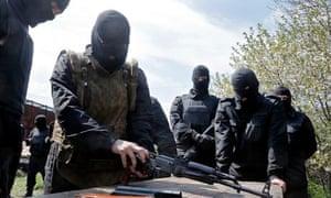 Pro-Ukrainian self defence unit