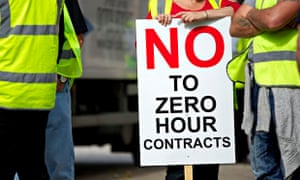 Workers on strike to protest against Hovis introducing zero hours contracts