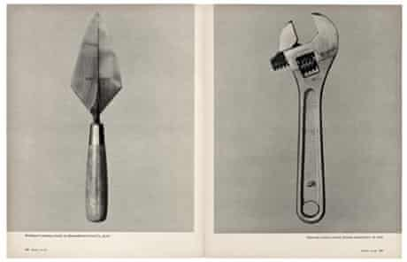 From Walker Evans, 'Beauties of the Common Tool', Fortune, July 1955.
