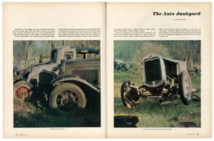 From Walker Evans, 'The Auto Junkyard', Fortune, April 1962.