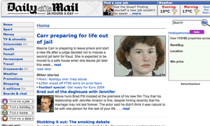 Wayback Machine Sideline Photo Fun When >> Mail Online S 10th Birthday From The Sidelines To The Sidebar