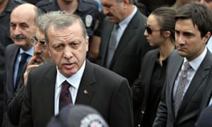 Yusuf Yerkel and Recep Tayyip Erdoğan