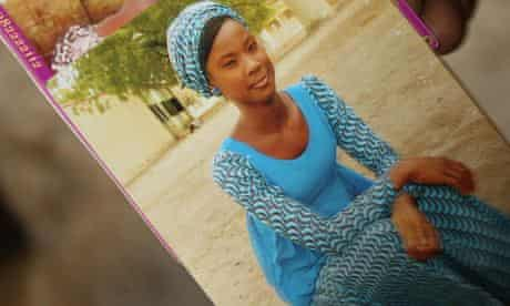 A picture of Dorcas Yakubu taken a day before she was kidnapped