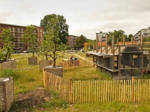 The community-designed and built Kolenkitbuurt chicken coop