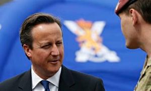 Cameron in Scotland
