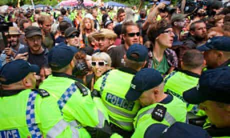 Balcombe fracking protest