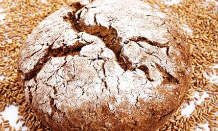Spelt bread. Image shot 2006.