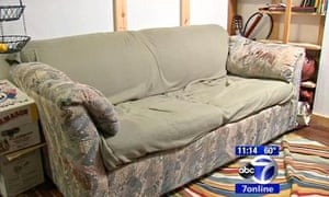 New York students find cash in sofa