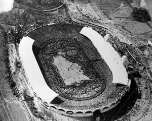 memory lane: 1923 fa cup final crowds
