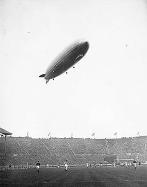 memory lane: Zeppelin At Cup Final