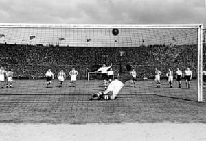 memory lane: George Mutch scores