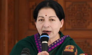 Chief Minister of the southern Indian state of Tamil Nadu and the General Secretary of The All India Anna Dravida Munnetra Kazhagam (AIADMK) party J.Jayalalithaa addresses media representatives in Chennai.