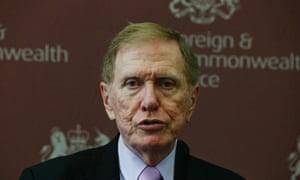Michael Kirby, chairperson of the United Nations Commission of Inquiry on Human Rights in North Korea, in October 2013.