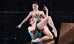'Pantherine': Natalia Osipova with Edward Watson  in DGV.