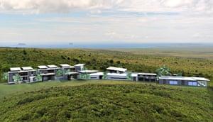 Artist's impression of Pikaia Lodge Galapagos