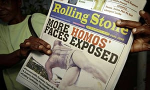 Uganda gay newspaper headline