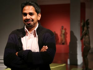 Riason Naidoo at the the South African National Gallery.