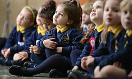 girls primary school children