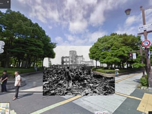 WWI in Street View: Hiroshima, Japan 1945