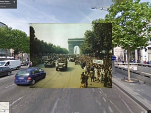 WWI in Street View: The liberation of Paris