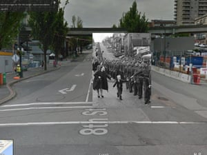 WWII in Street View: the BC regiment in Canada
