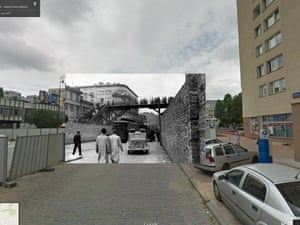 WWII in Street View: Warsaw ghetto