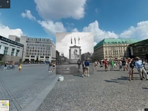 WWII in Street View: poster portrait of Stalin