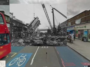 WWII in Street View: London blitz Balham bombing
