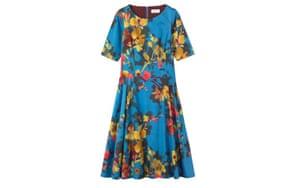 Summer dresses: 50 of the best summer dresses - blue floral half sleeve dress by Toast