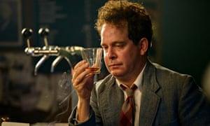 Tom Hollander as Dylan Thomas in A Poet in New York