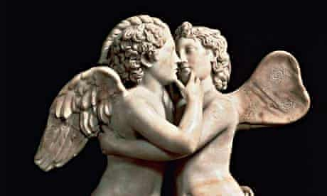 Those ancients knew their love talk … a first-century AD statue from Florence