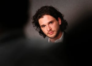 British actor Kit Harington attends the press conference for 'How to Train Your Dragon 2'.
