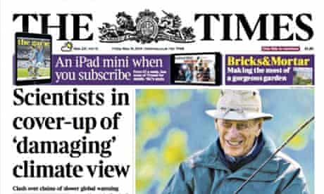 Times front page Friday 16 May 2014