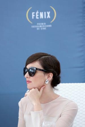 Actress Paz Vega attends the Fenix Film Awards.