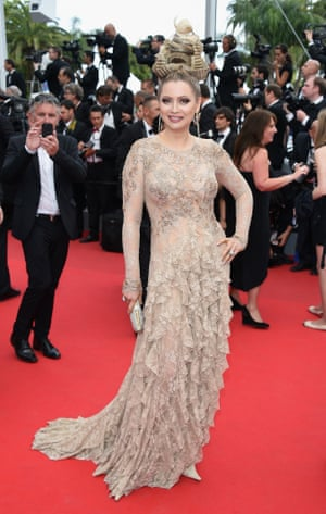 """CANNES, FRANCE - MAY 16:  Elena Lenina attends the """"How To Train Your Dragon 2"""" premiere."""