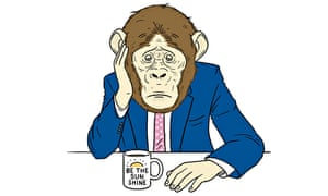 Rod Liddle Selfish Whining Monkeys digested illustration by Matt Blease