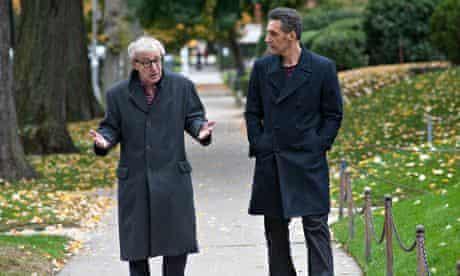 Woody Allen and John Turturro in Fading Gigolo