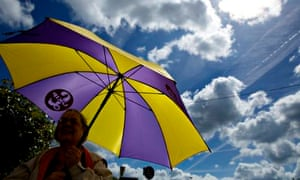 A Ukip supporter in Keighley