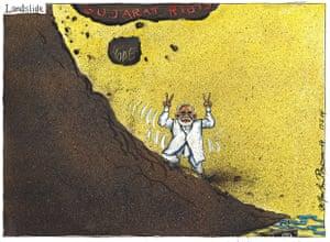 Martin Rowson on Narendra Modi's India elections win