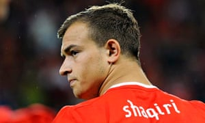 Xherdan Shaqiri, the Bayern Munich and Switzerland winger, has become a target for Liverpool