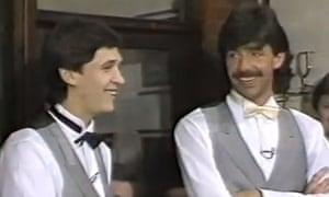Gary Lineker and Mark Lawrenson