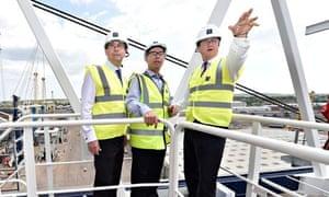 David Cameron with Martin Callanan