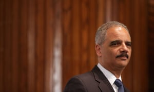 Eric Holder at the Brown v Board of Education anniversary.